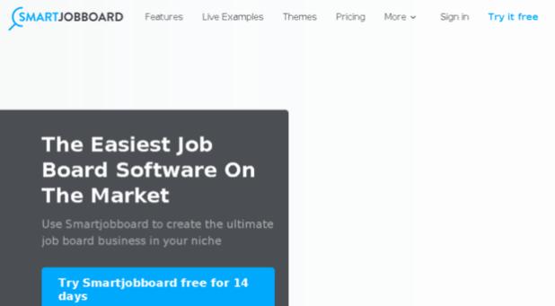 I can help you in setting up smart job Smartjob Board website